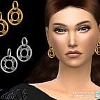 Roman Numeral Drop Earrings By Natalis