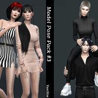 Model Pose Pack #3 By Yanisim