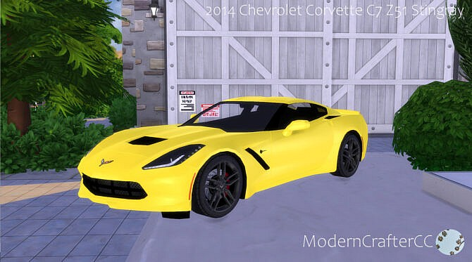 2014 Chevrolet Corvette C7 Z51 Stingray