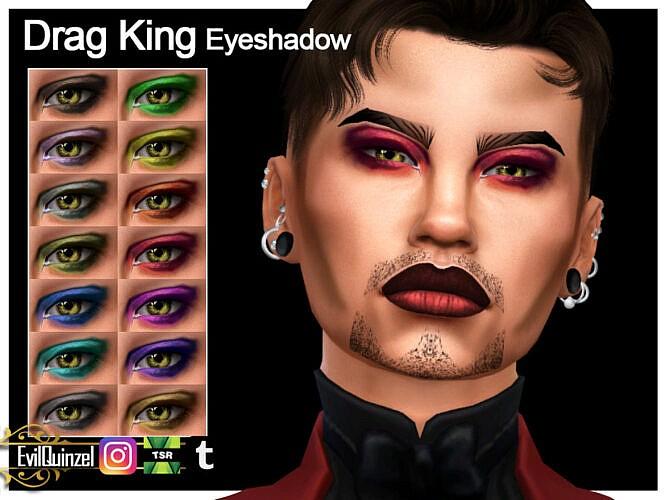 Drag King Eyeshadow By Evilquinzel