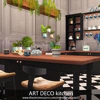 Art Deco Kitchen By Dasie2
