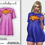 Girl Power Dress Mc202 By Mermaladesimtr