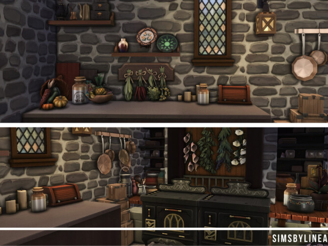 Sims 4 Medieval Inn by SIMSBYLINEA at TSR