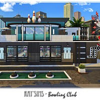 Bowling Club By Ray_sims