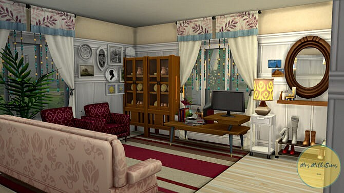 Sims 4 Affordable housing at Mrs.MilkiSims