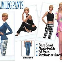 Bg Slim Leg Jeans