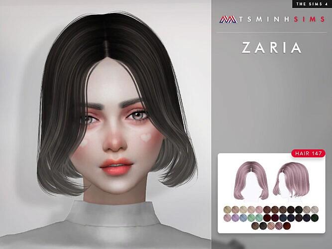 Zaria Hair 147 By Tsminhsims