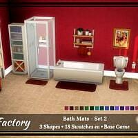 Rug Factory: Bath Mat Set