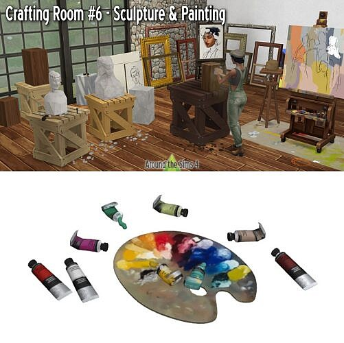 Crafting Room – Sculpture & Painting