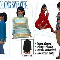 Tamo's Long Sweater