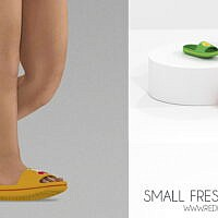 Small Fresh Fruit Slippers (toddler)