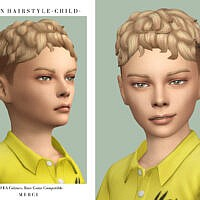 Alvin Maxis Match Hairstyle For Boys By Merci