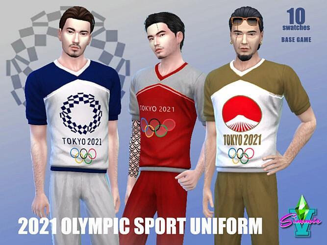 2021 Olympic Sport Uniform By Simmiev
