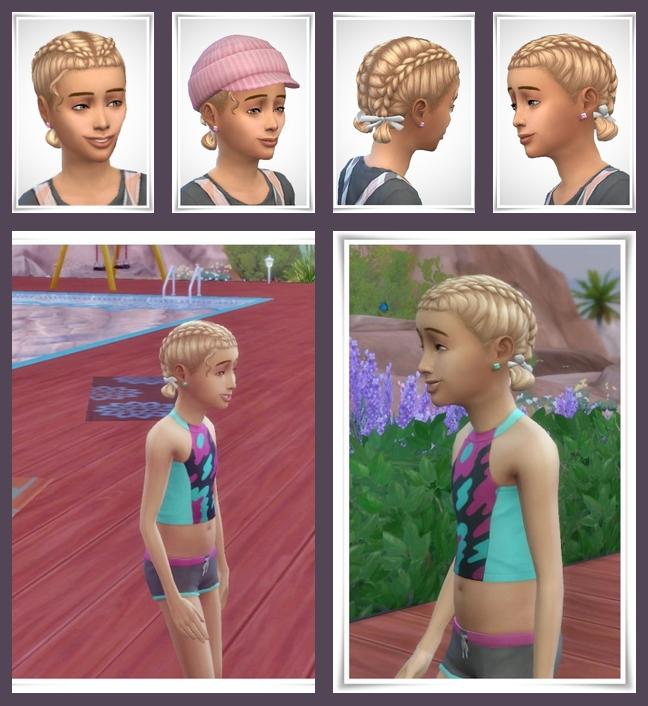 Sims 4 Leah Kids Hair at Birksches Sims Blog