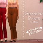 Grandma Pants By Dissia