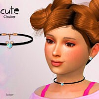 Cute Child Choker By Suzue