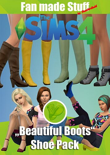 Beautiful Boots Fan Made Shoes Pack