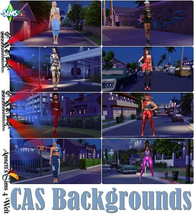 Sims 4 Del Sol Valley 2021 CAS Backgrounds at Annett's Sims 4 Welt