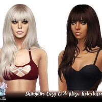 Cazy C196 Aliza Hair Retexture