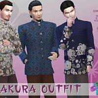 Sakura Outfit By Simmiev