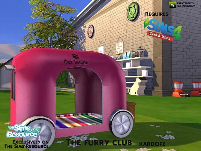 Sims 4 The furry club by kardofe at TSR