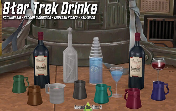 Sims 4 Star Trek Clutter by Sandy at Around the Sims 4