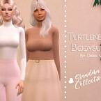 Turtleneck Bodysuit V1 By Dissia