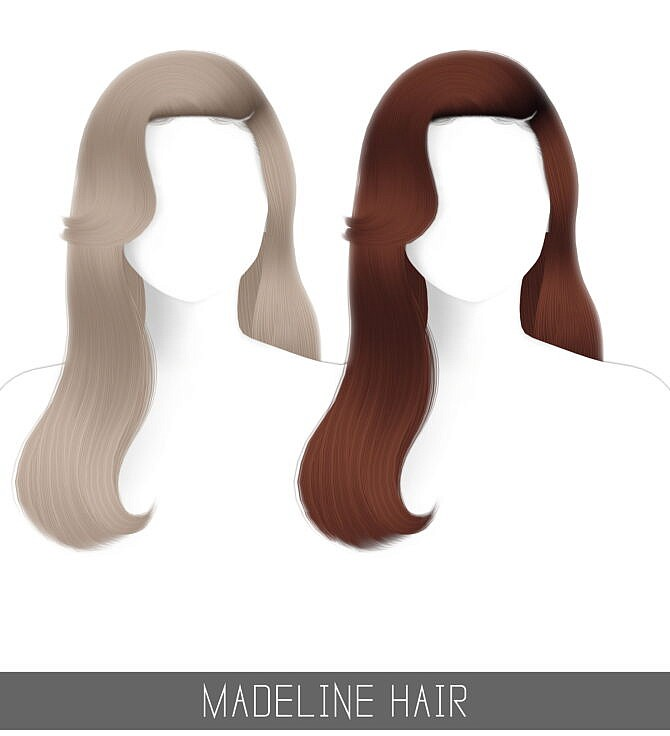 Sims 4 MADELINE HAIR + TODDLER & CHILD at Simpliciaty