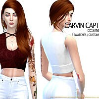 Sandra Top By Carvin Captoor