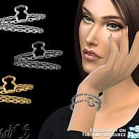 Teddy Bear Bracelet By Natalis