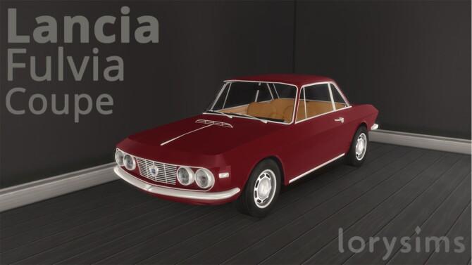 1965 Lancia Fulvia Coupe