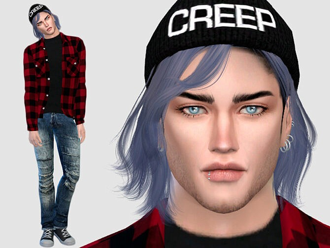 Sims 4 Joey McNeil by DarkWave14 at TSR