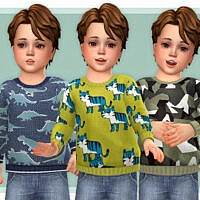 Cozy Sweater For Toddler 03 By Lillka