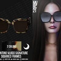 Squared Acetate Frames