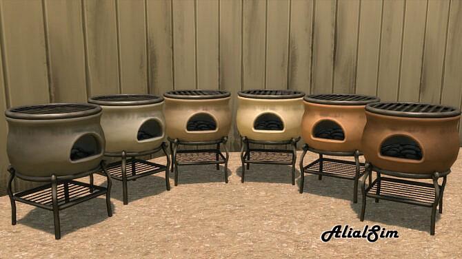 Sims 4 Grill at Alial Sim