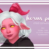 Horns Pack Kids + Toddlers