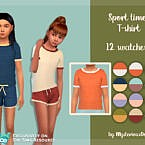Sport Time T-shirt By Mysteriousoo