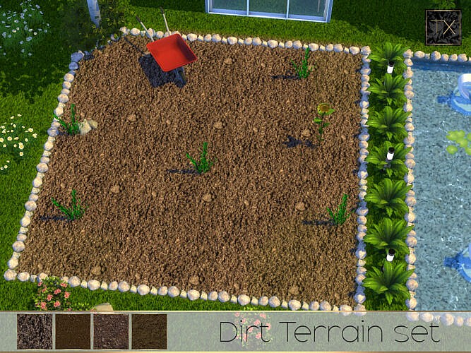 Tx – Dirt Terrain Set By Theeaax