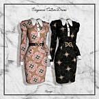 Elegance Collar Dress