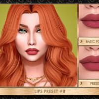 Lips Preset #8 By Jul_haos