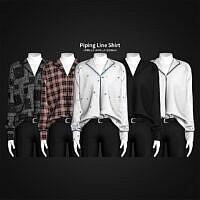 Piping Line Shirt