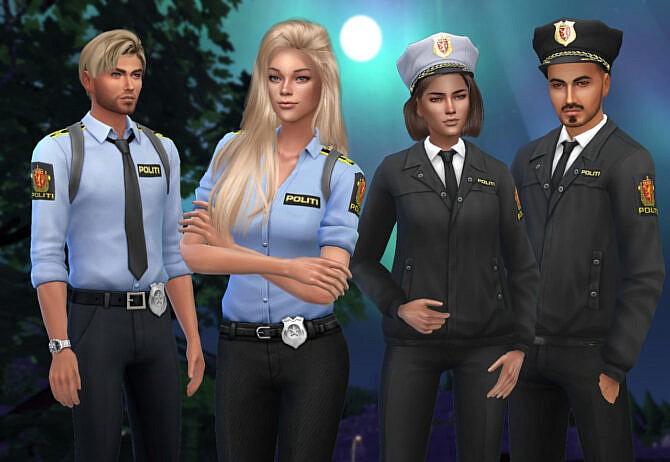 Norwergian Police Uniform