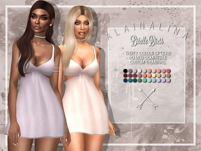 Brielle Cut-out Mini Dress