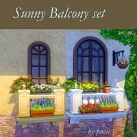 Sunny Balcony Set By Pocci