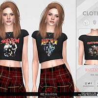 Bands Shirt 02 F By Remaron