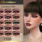 Eyeshadow N06 By Anonimux Simmer