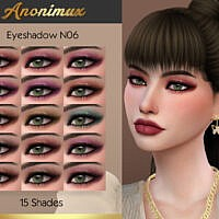 Eyeshadow N06 By Anonimux Simmer