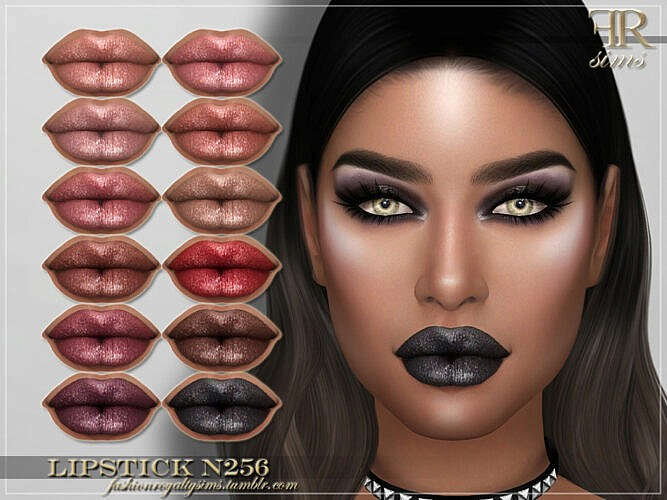 Frs Lipstick N256 By Fashionroyaltysims