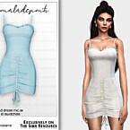 Embroidered Dress Mc181 By Mermaladesimtr