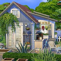 Cute Garden Shed By Flubs79